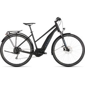 Cube Touring Hybrid ONE 400 Bicicletta elettrica da trekking Trapez nero